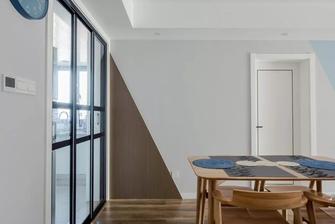 豪华型130平米三室两厅工业风风格餐厅图片