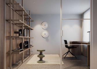 60平米复式现代简约风格书房设计图