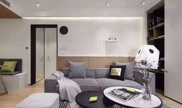 60平米现代简约风格客厅图片大全
