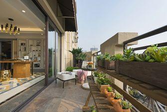 富裕型140平米复式美式风格阳台装修图片大全