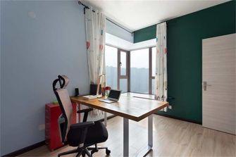 富裕型70平米欧式风格书房装修图片大全