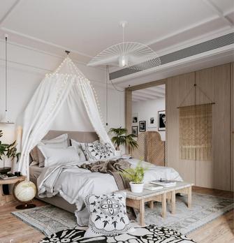 经济型130平米三室一厅东南亚风格卧室设计图