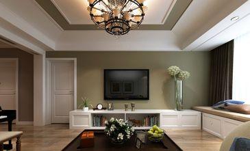 20万以上140平米四美式风格客厅设计图
