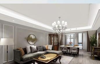 20万以上140平米四室两厅新古典风格客厅图