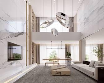 20万以上140平米复式中式风格客厅图片