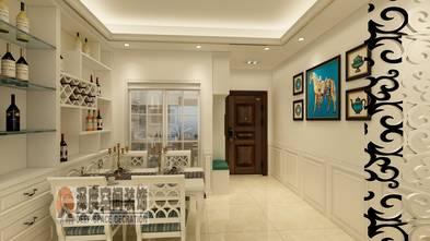3-5万80平米三室两厅欧式风格餐厅装修案例