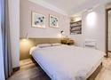 110平米三现代简约风格卧室欣赏图