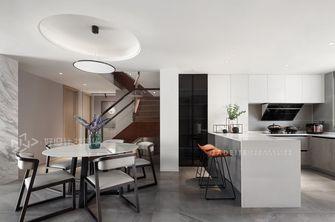 140平米复式现代简约风格餐厅图片大全