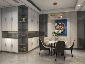 15-20万140平米四室两厅轻奢风格餐厅装修效果图