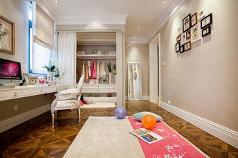 豪华型140平米别墅欧式风格衣帽间欣赏图