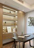 富裕型120平米三室两厅现代简约风格书房装修案例