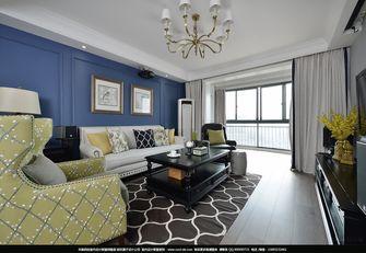 100平米三美式风格客厅欣赏图