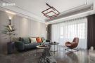 130平米三室两厅现代简约风格客厅图片大全
