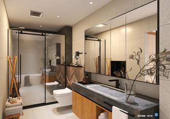 140平米三室两厅日式风格卫生间效果图