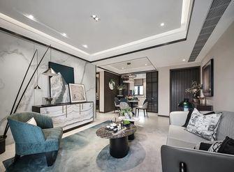 富裕型110平米三中式风格客厅图片大全
