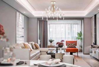 经济型90平米现代简约风格客厅欣赏图