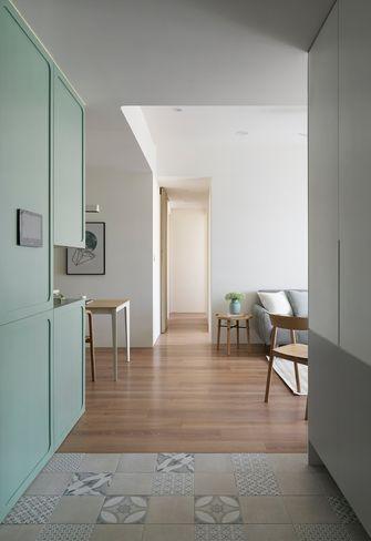 10-15万80平米三室两厅田园风格玄关图