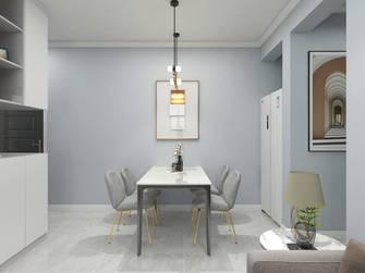 90平米三室两厅北欧风格餐厅装修图片大全