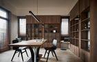 豪华型140平米别墅北欧风格书房图