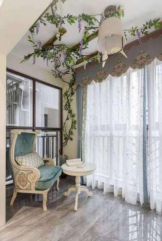 100平米四室两厅欧式风格阳台图
