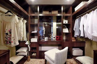 富裕型140平米三室两厅中式风格衣帽间图片
