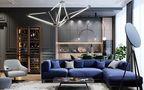 富裕型120平米三室一厅法式风格走廊图