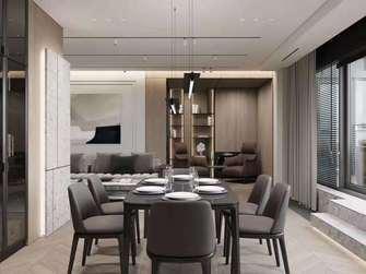 10-15万130平米三室两厅港式风格餐厅装修图片大全