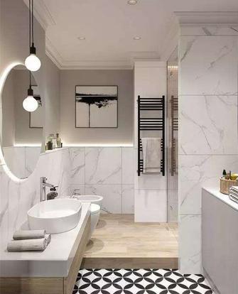 富裕型120平米三室两厅欧式风格卫生间装修图片大全