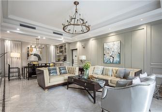 20万以上140平米别墅混搭风格客厅欣赏图
