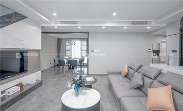 豪华型140平米复式轻奢风格客厅图片