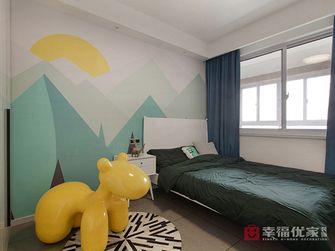 富裕型100平米三室两厅田园风格青少年房欣赏图
