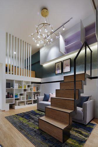富裕型60平米公寓北欧风格楼梯间效果图