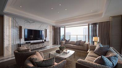 20万以上100平米四室一厅现代简约风格客厅装修图片大全