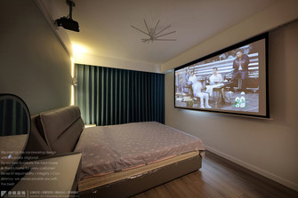 经济型100平米日式风格卧室欣赏图