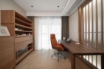 10-15万130平米三室两厅日式风格书房欣赏图