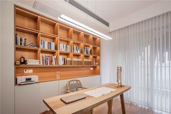 豪华型140平米三室两厅日式风格书房欣赏图