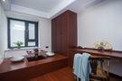 140平米三室两厅中式风格书房图
