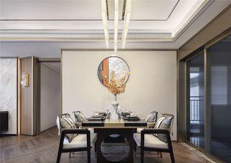 80平米中式风格餐厅设计图