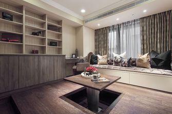 20万以上110平米三室一厅欧式风格书房设计图