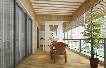 富裕型140平米四室两厅中式风格阳台欣赏图