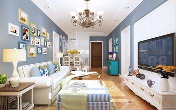 60平米公寓美式风格客厅欣赏图