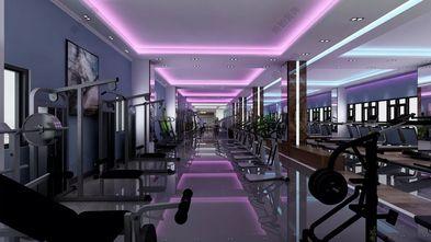 10-15万140平米公装风格健身房图
