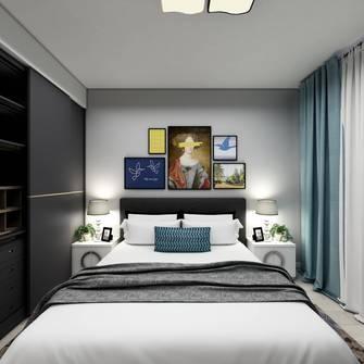 富裕型60平米北欧风格卧室装修图片大全
