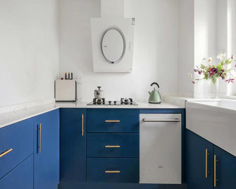 5-10万70平米三法式风格厨房图片大全