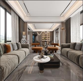 20万以上130平米三室两厅港式风格客厅图片大全