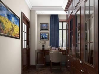 豪华型140平米别墅美式风格衣帽间图片大全