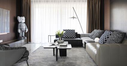 豪华型140平米四室三厅港式风格客厅图片大全