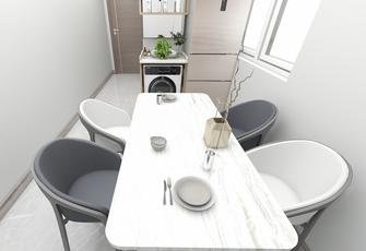 经济型30平米以下超小户型现代简约风格餐厅效果图
