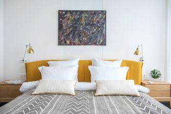 100平米一居室现代简约风格卧室设计图