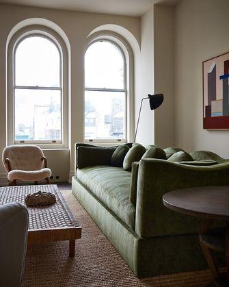 15-20万60平米现代简约风格客厅图片大全